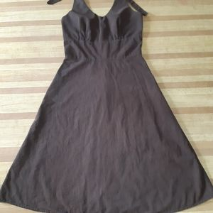 Reitman's Woman size 7 brown summer dress